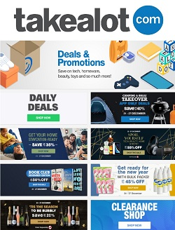 takealot specials spoil yourself up to 70 off 25 december 2020