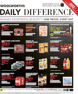 woolworths specials 28 december 2020