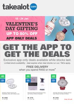 takealot specials valentine's day gifting 24 january 2021 width=