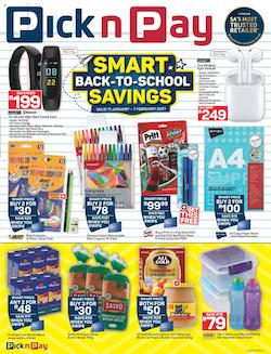 pick n pay specials back to school 11 january 2021
