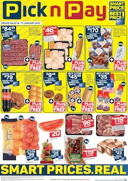 pick n pay specials weekend deals 14 january 2021