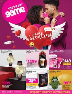 game specials be our valentine 1 february 2021
