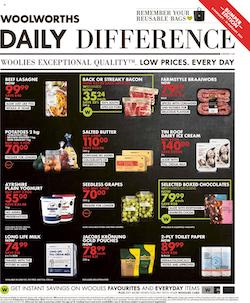 woolworths specials daily difference 8 february 2021