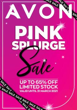 avon brochure pink splurge up to 65 off 23 31 march 2021