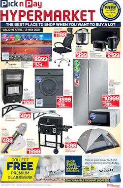 pick n pay specials hypermarket 19 apr 2 may 2021
