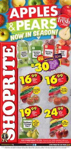 shoprite specials apples pears promotion 26 apr 9 may 2021