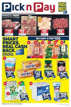 pick n pay specials 10 - 16 may 2021