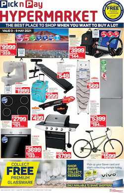 pick n pay specials hypermarket sale 3 - 9 2021
