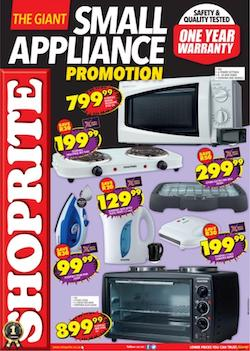 shoprite specials small appliance promotion 24 may 6 jun 2021