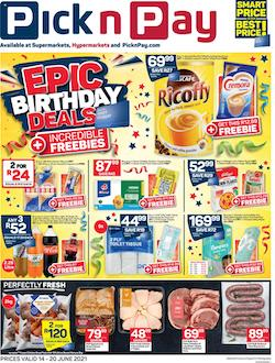 pick n pay specials 14 20 june 2021