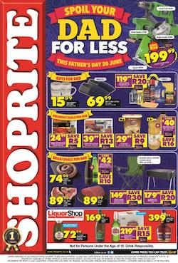 shoprite specials spoil dad this fathers day 14 20 june 2021