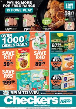 checkers specials over 1000 deals daily 29 jul 1 aug 2021