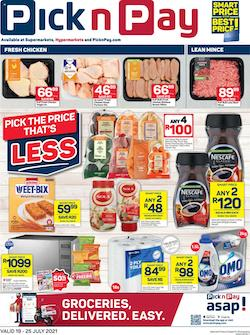 pick n pay specials 19 25 july 2021