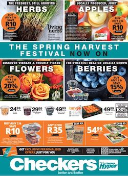 checkers specials the spring harvest festival 23 aug 5 aug 2021