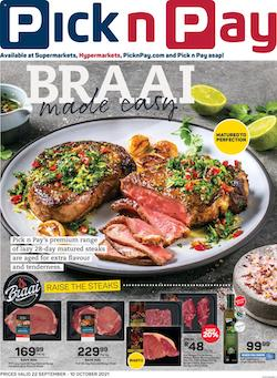 pick n pay specials summer sale 22 sep 10 oct 2021