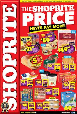 shoprite specials never pay more 14 17 october 2021