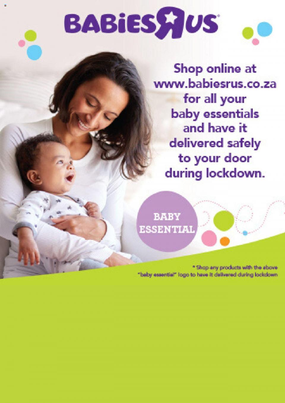 babies r us catalogue essential specials 4 may 2020