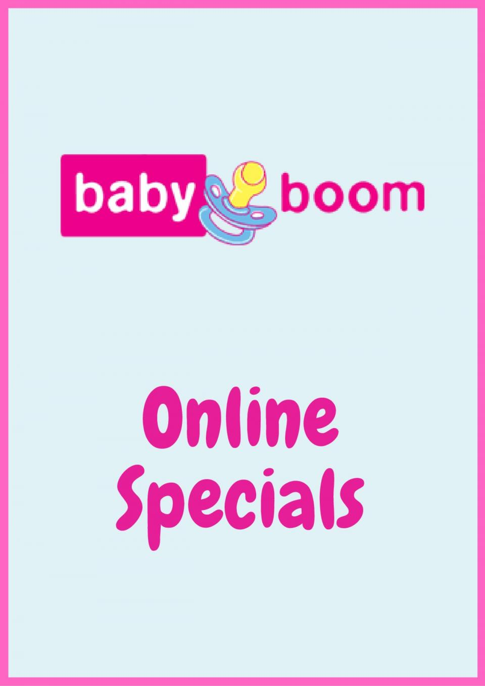 baby boom specials 20 may 2020