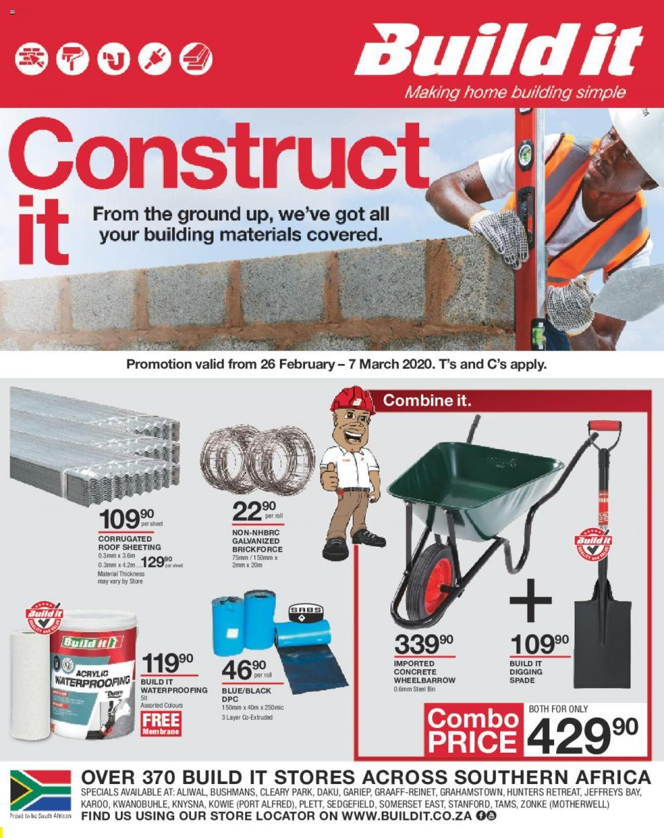 build it specials weekly catalogue 4 march 2020