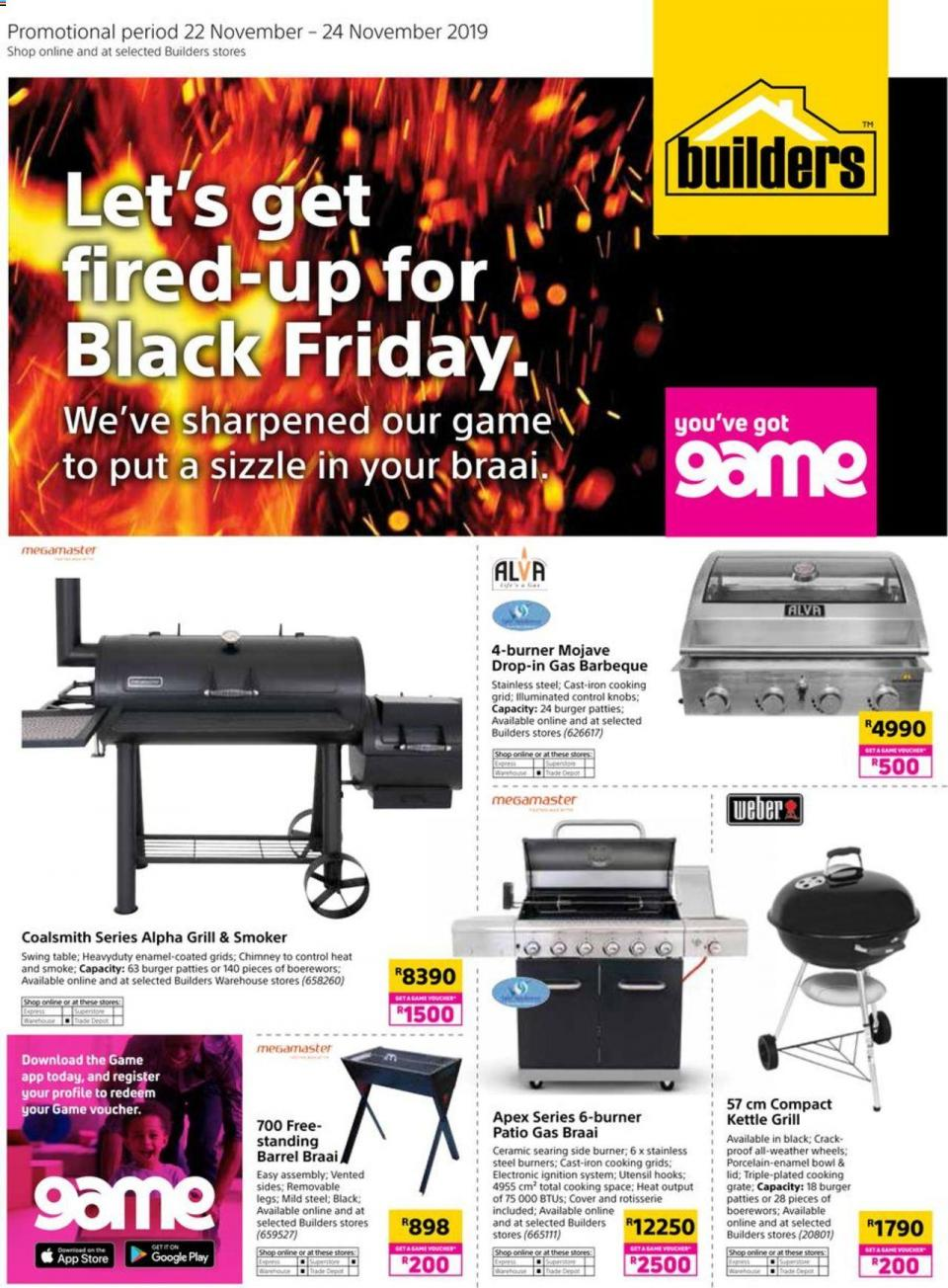 builders warehouse black friday 22 november 2019