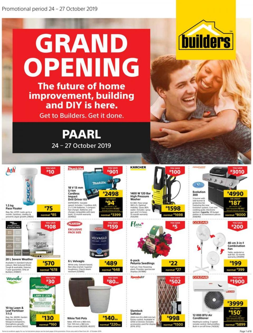 builders warehouse express paarl grand opening 24 october 2019
