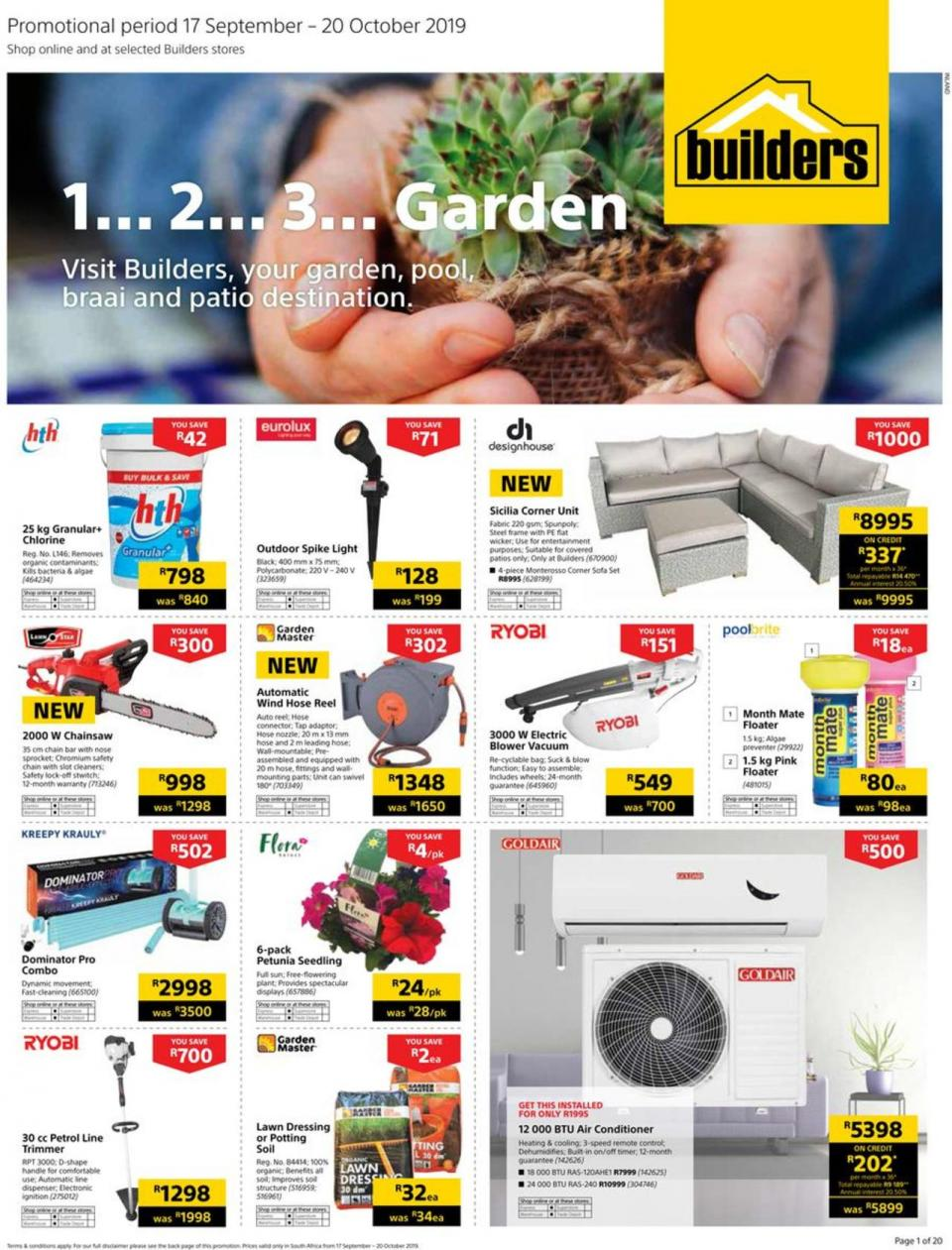 builders warehouse specials 1 2 3 garden 17 september 2019