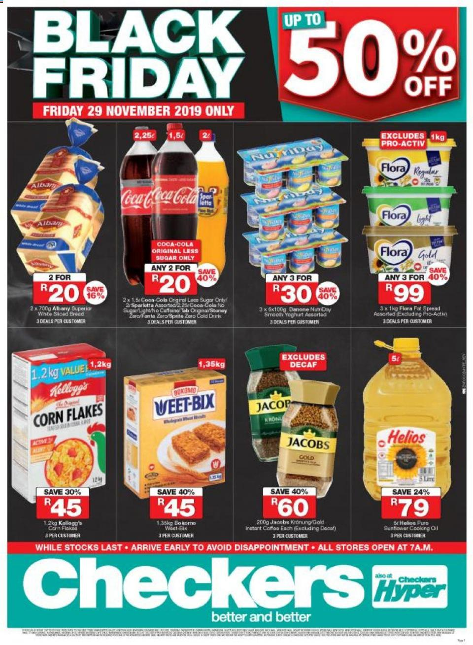 checkers specials black friday kwazulu natal 29 november 2019