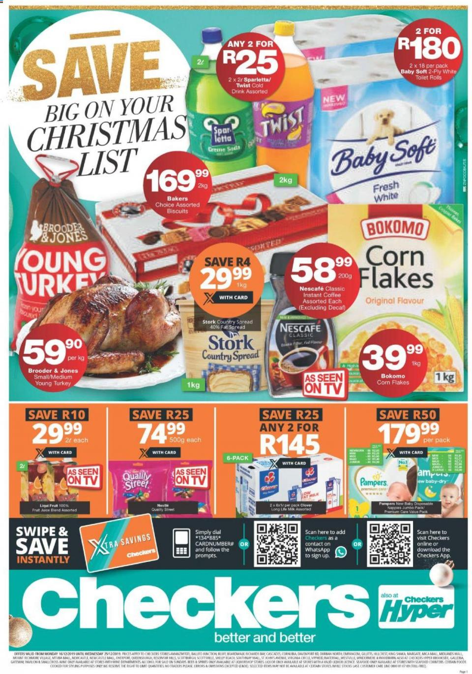 checkers specials christmas sale 18 december 2019