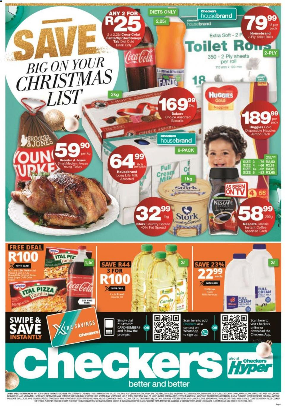 checkers specials christmas specials 09 december 2019