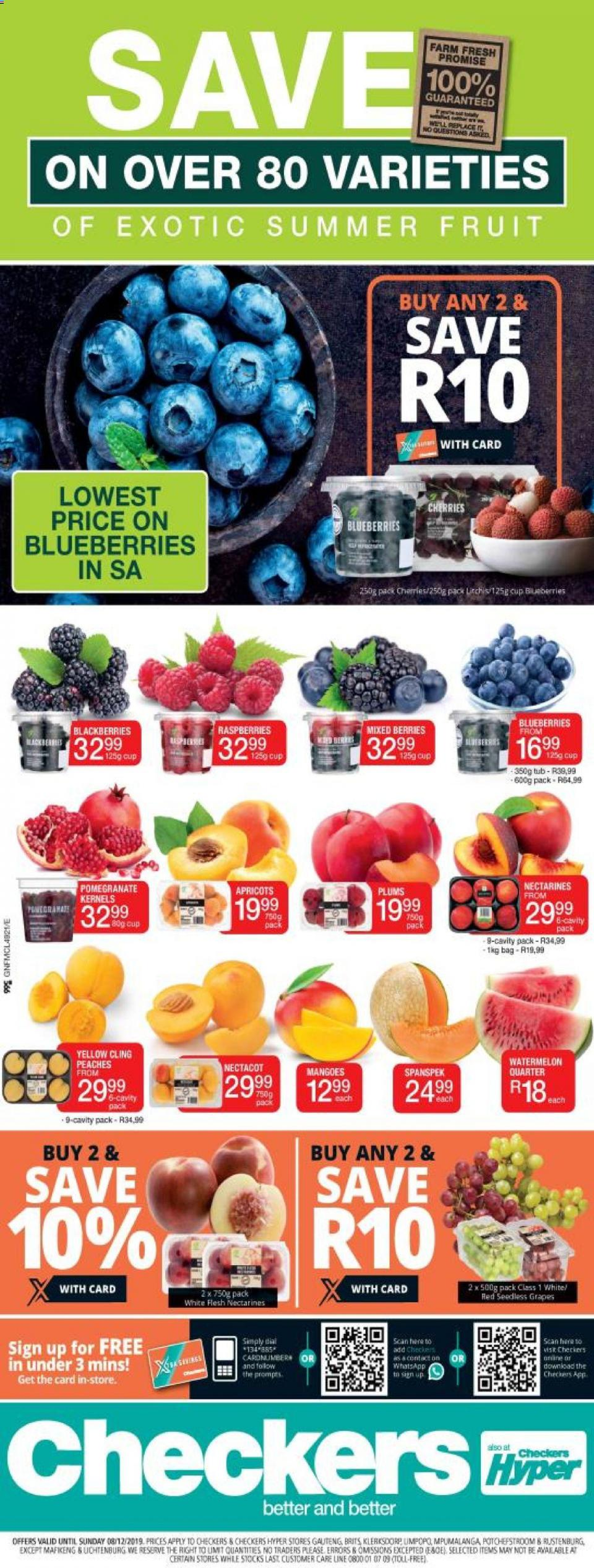 checkers specials great north exotic fruit promotion 02 december 2019