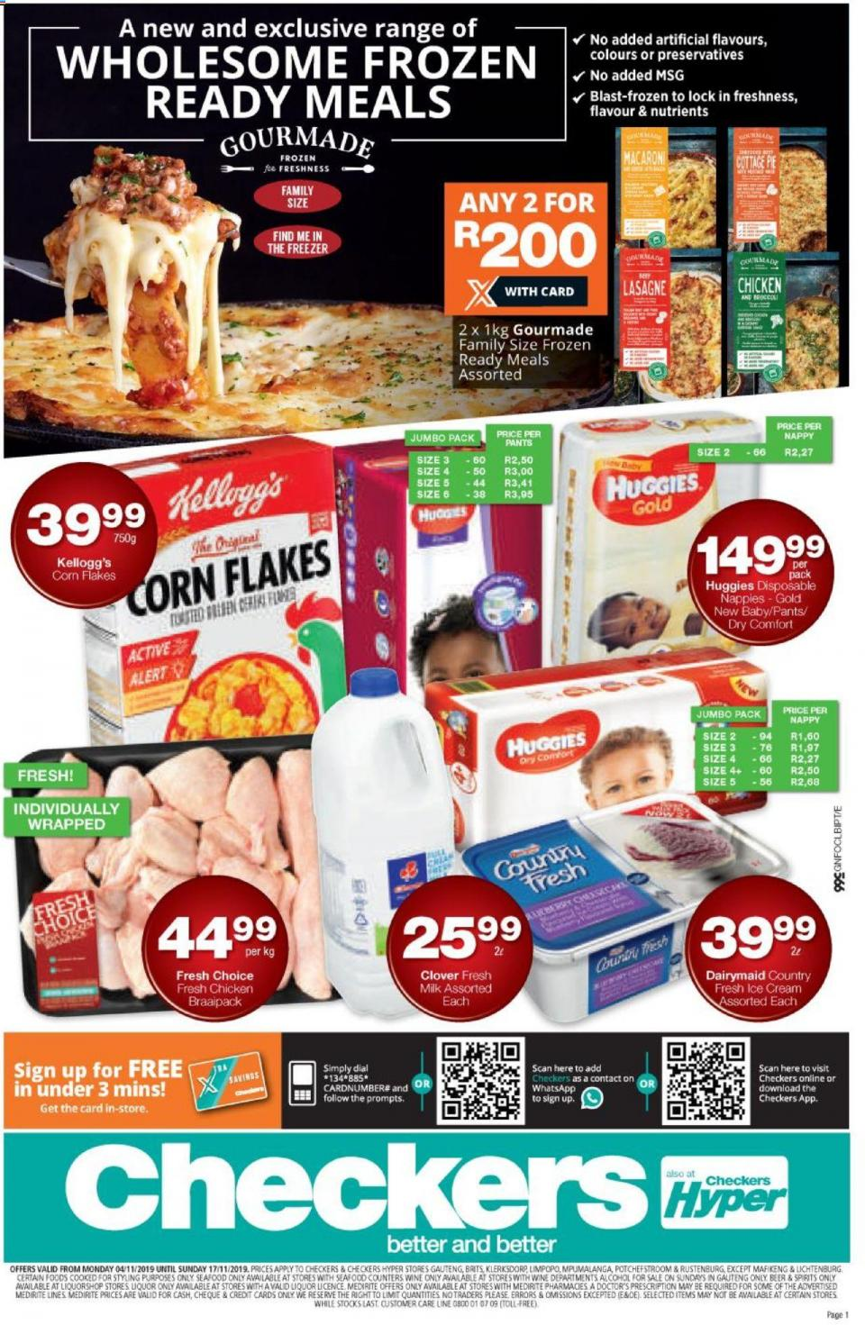 checkers specials great north grocery 04 november 2019