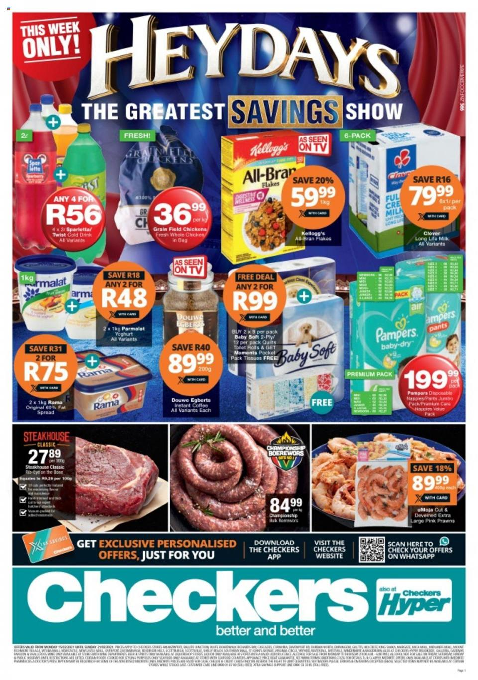 checkers specials heydays promotion 15 february 2021