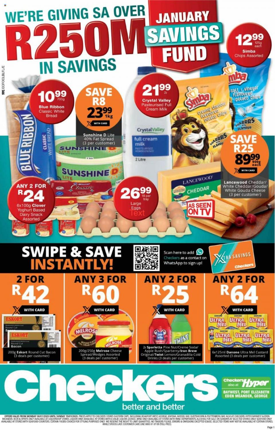 checkers specials january savings eastern cape 8 january 2020