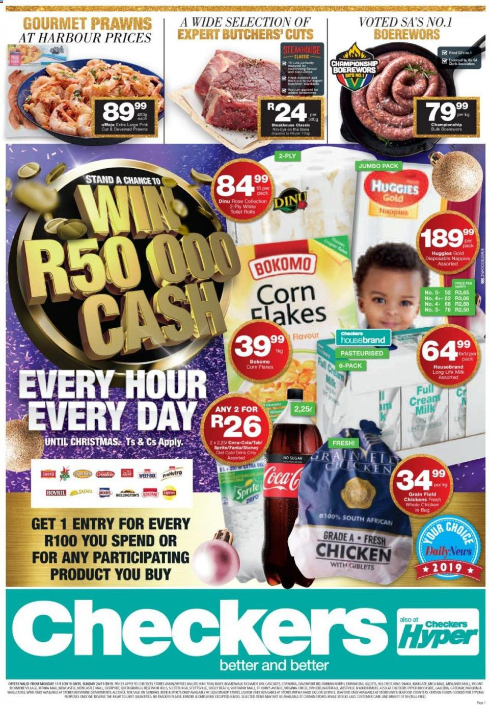 checkers specials kwazulu 11 november 2019