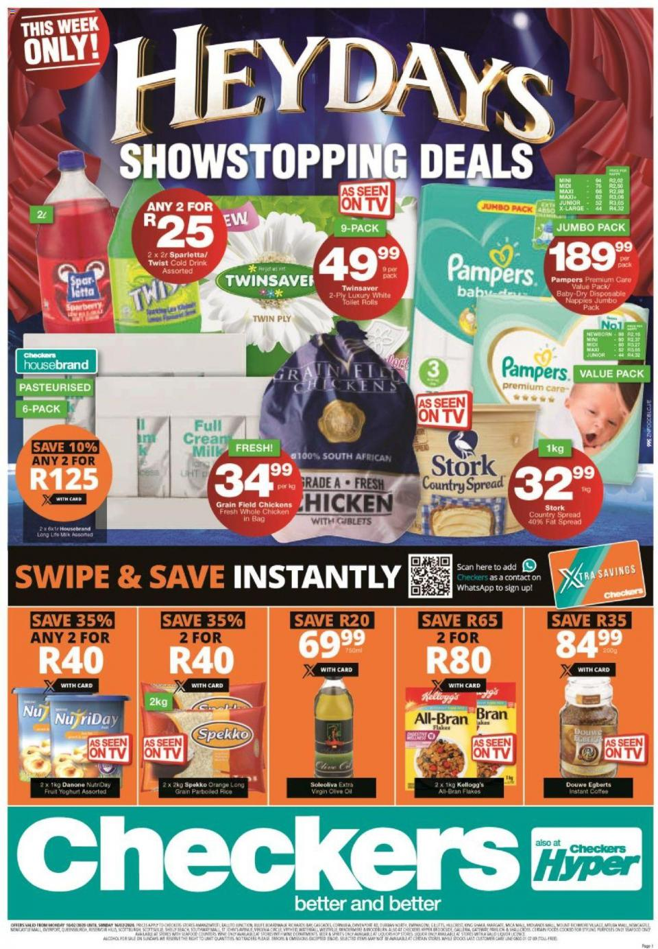 checkers specials l heydays promotion 10 february 2020