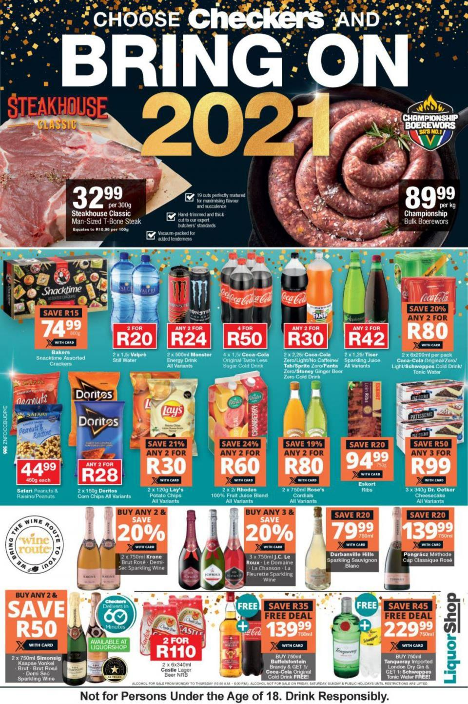 checkers specials new years deals 28 december 2020