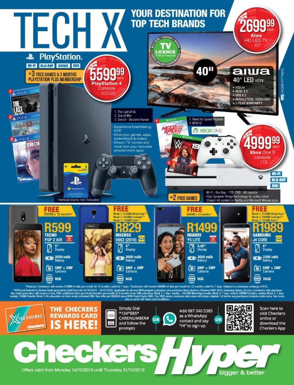 checkers specials tech x promotion 14 october 2019