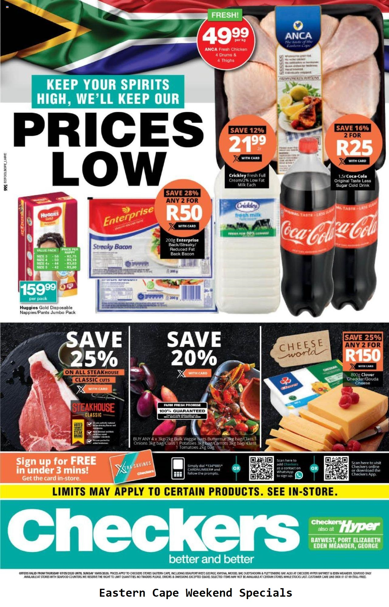 checkers specials weekend specials 7 may 2020