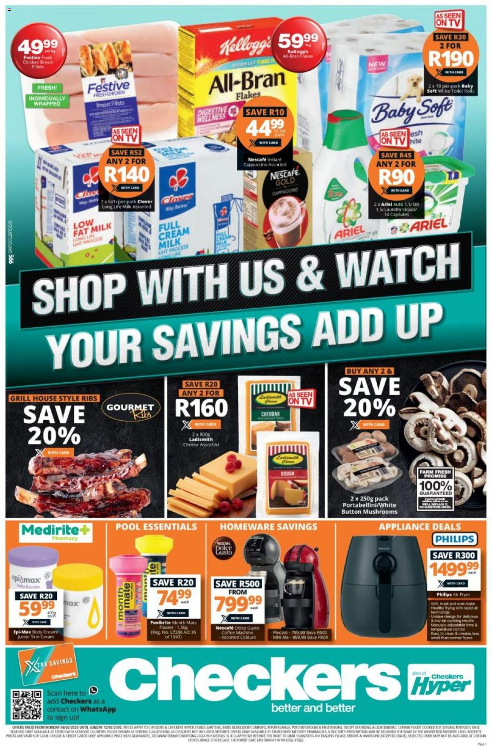 checkers specials weekly catalogue 6 july 2020