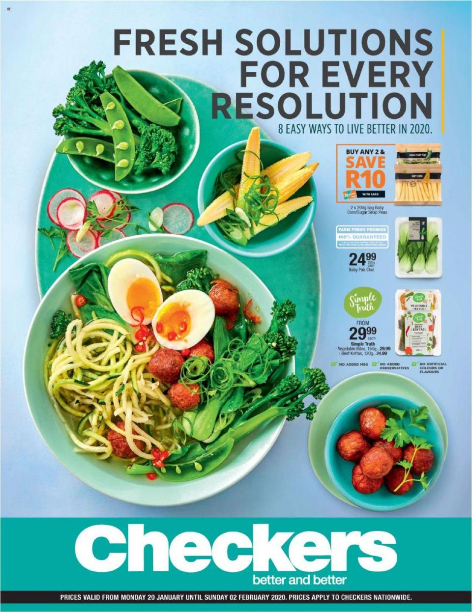 checkers specials wellness promotion 20 january 2020