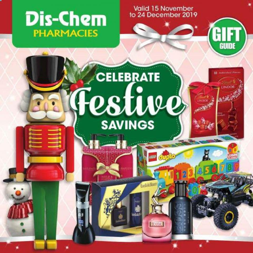 dischem specials celebrate festive savings 15 november 2019