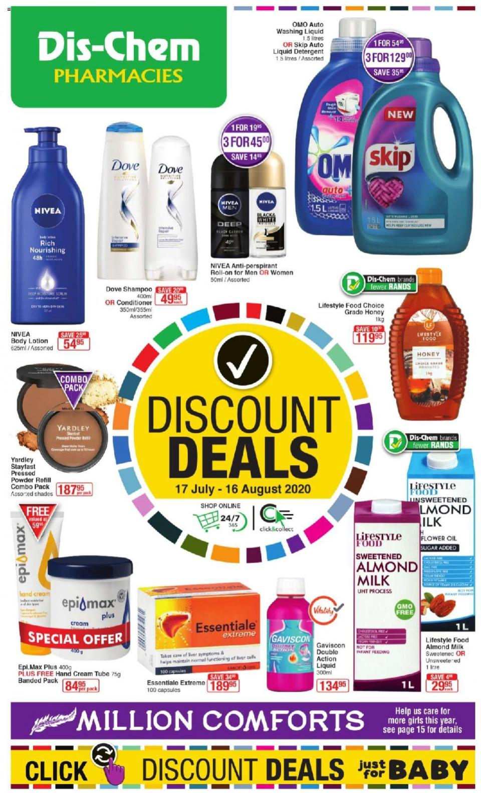 dischem specials discount deals 17 july 2020