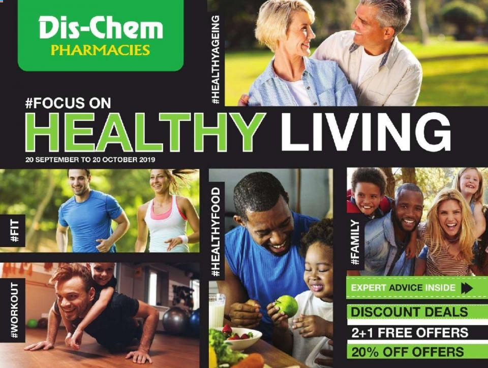 dischem specials healthy living 20 september 2019