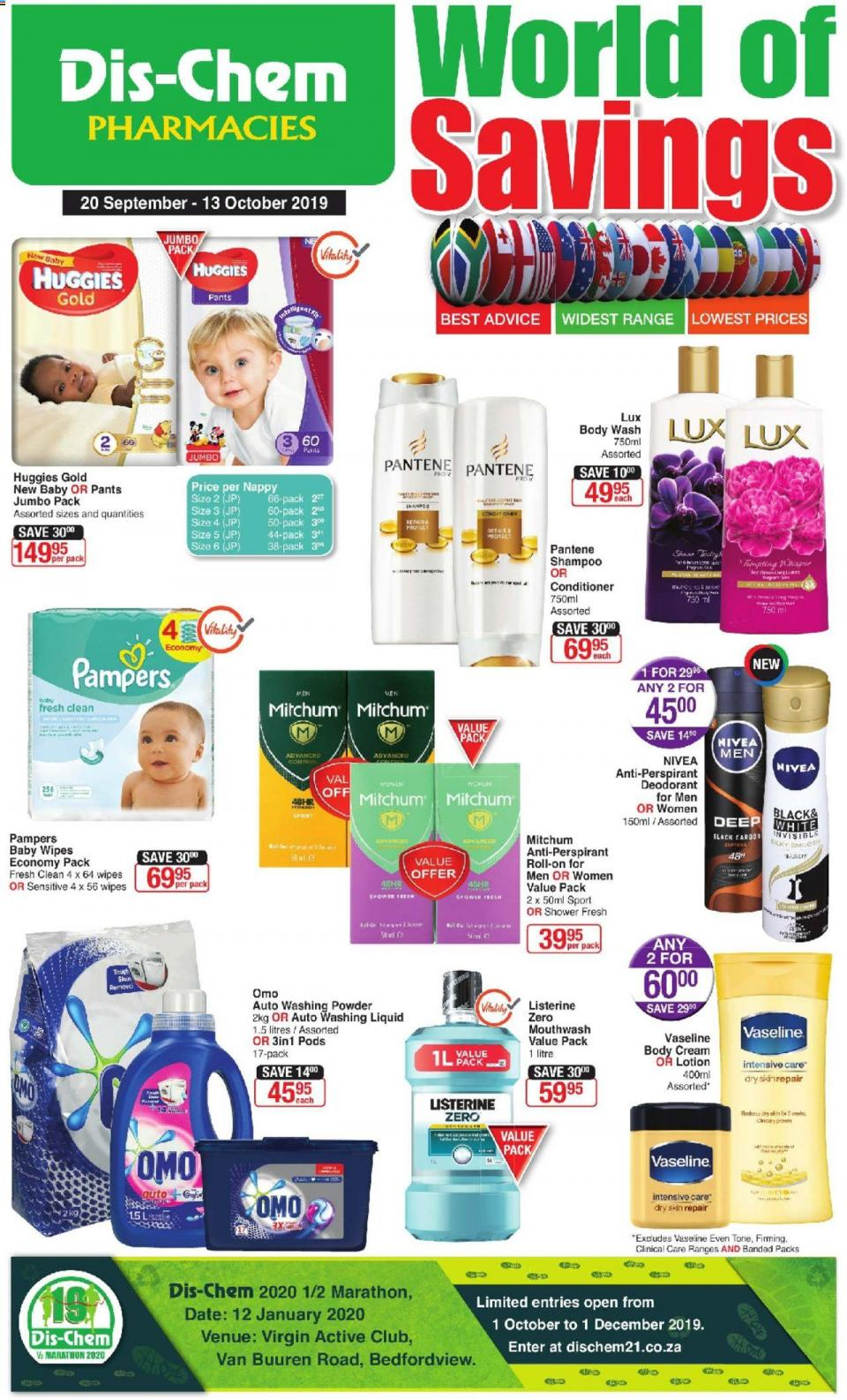 dischem specials world of savings 20 september 2019