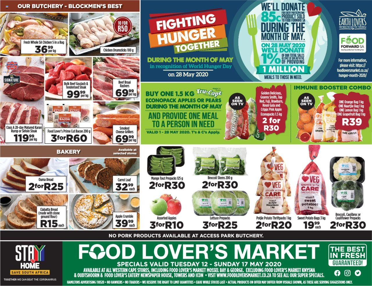 food lovers specials 12 may 2020