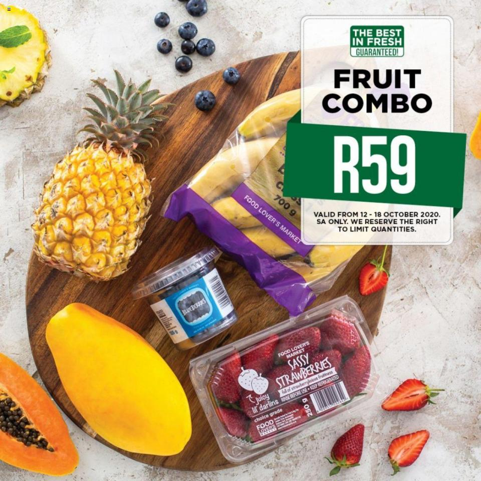 food lovers specials 12 october 2020