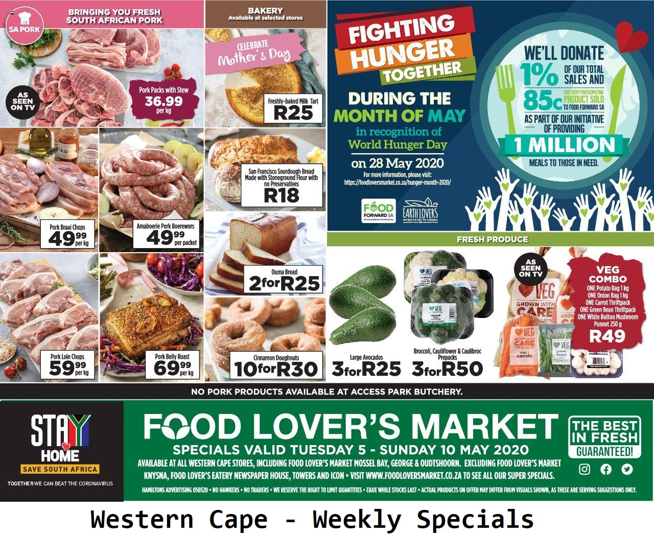 food lovers specials weekly 5 may 2020