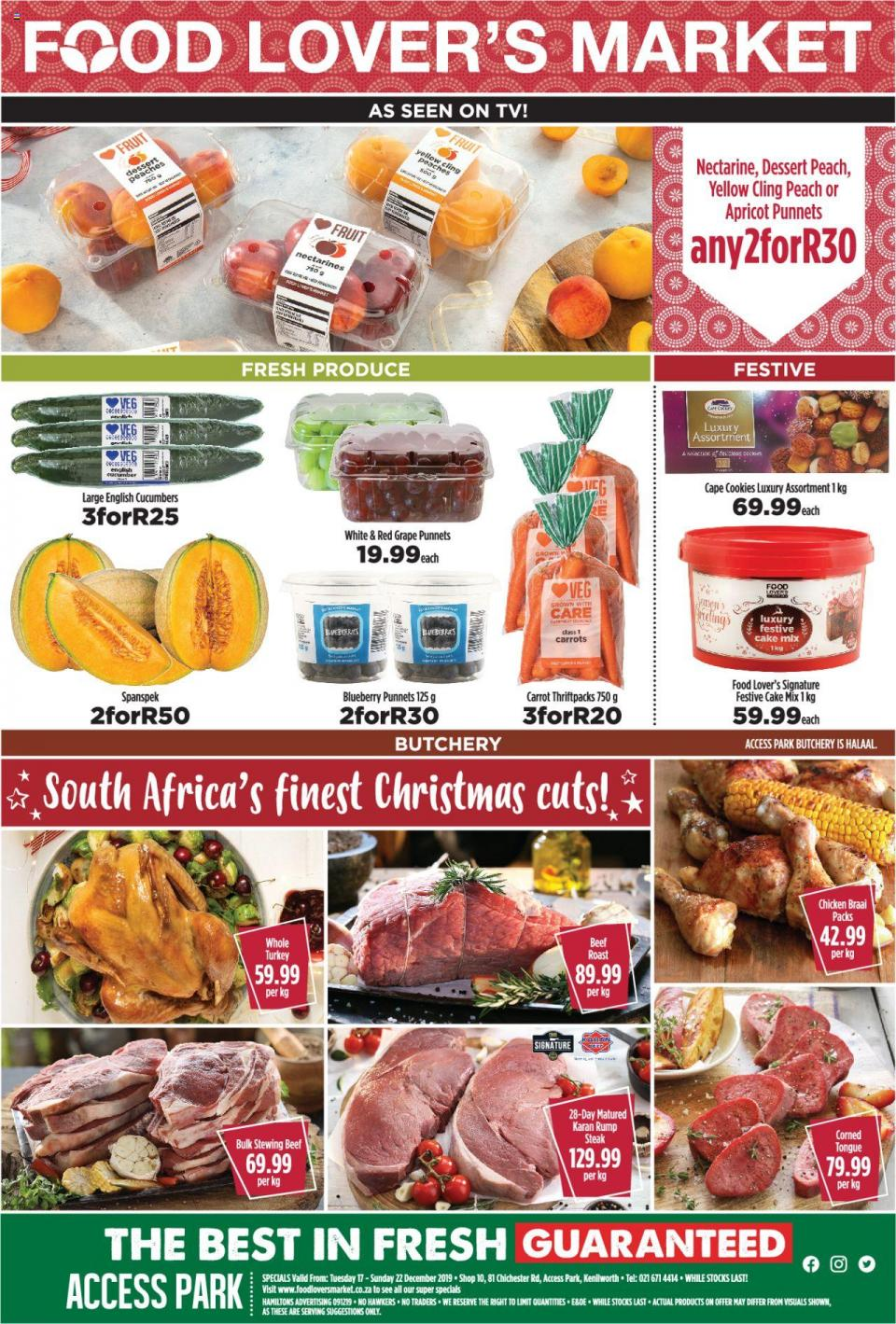 food lovers specials weekly catalogue 18 december 2019