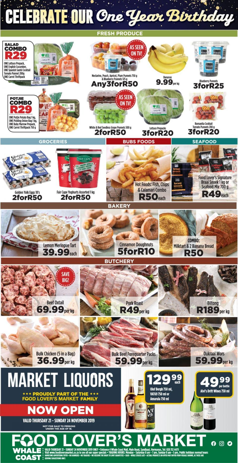 food lovers specials whale coast mall weekly catalogue 21 november 2019