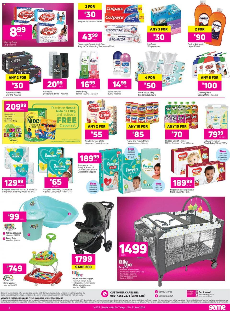game specials leaflet 15 january 2020